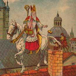 Postzegels      van het thema Sint Nicolaas  '