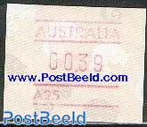 Automat stamp 1v (face value may vary)