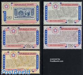 American bicentenary 5v