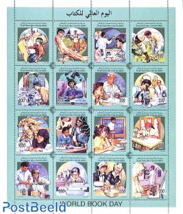 World book day 16v m/s, professions