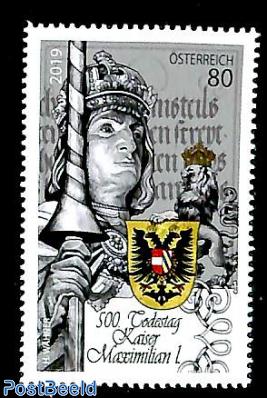 Emperor Maximilian I 1v