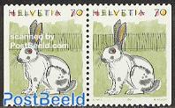 Rabbits, booklet pair