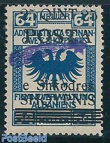 Overprint 1v, on Eagle type II