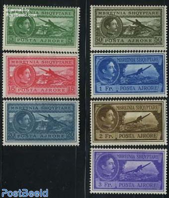Airmail definitives 7v