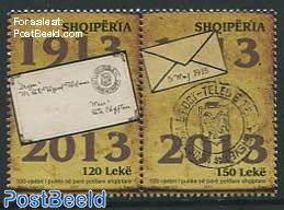 100 Years stamps 2v [:]