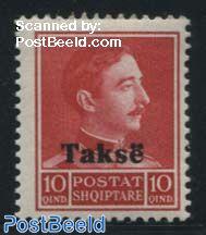 Postage Due 1v overprint