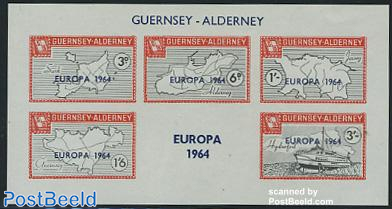 Commodore parcel stamps, Europa s/s