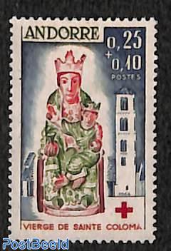 Red Cross, Madonna of Santa Coloma 1v