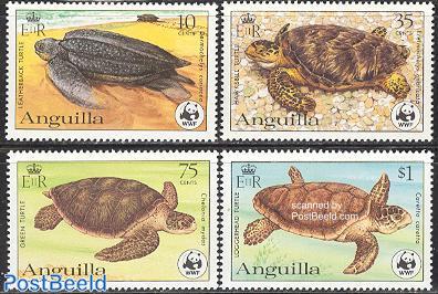 WWF, turtles 4v