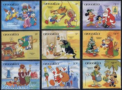 Christmas, Disney 9v