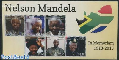 Nelson Mandela 6v m/s