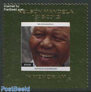 Nelson Mandela 1v, gold