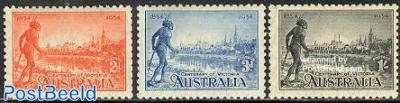 Victoria colonisation 3v