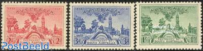 South Australia centenary 3v