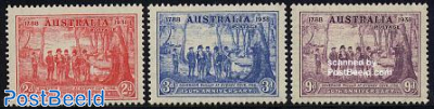 150 years New South Wales 3v