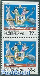 Tourism booklet pair