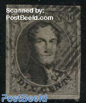 10c, King Leopold I