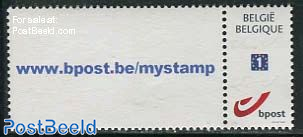 Personal stamp 1v, with tab