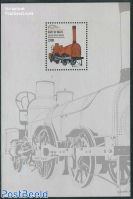 Railway stamp, Land van Waes s/s