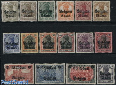 German occupation 16v