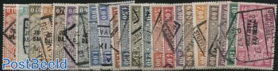 Newspaper stamps 22v