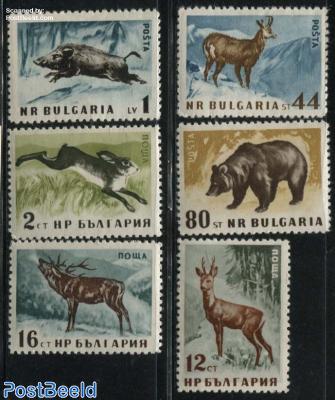 Forest animals 6v