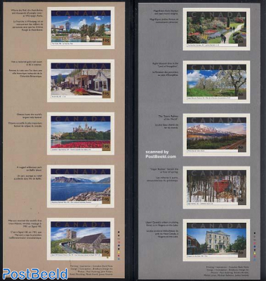 Tourism 10v s-a (in 2 booklets)