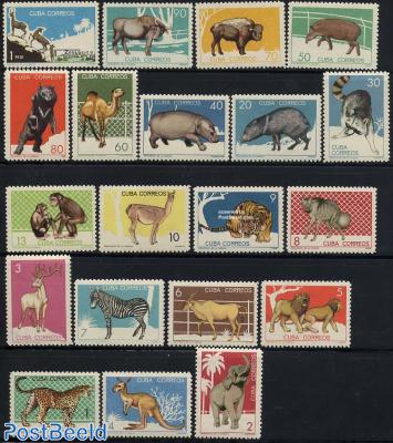 Zoo animals 20v