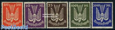 Airmail definitives 5v