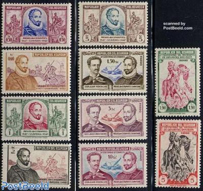 M. de Cervantes 10v
