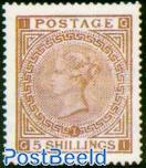 5Sh Rosalila, Queen Victoria
