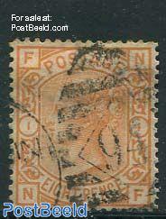 8p, Darkorange, Queen Victoria