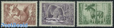 Anti tuberculosis, animals 3v