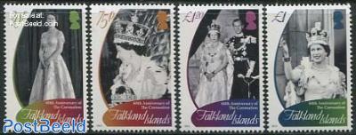 Diamond Anniversary of Coronation 4v