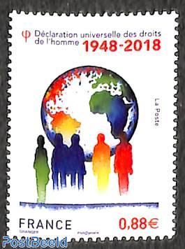 Declaration of human rights 1v