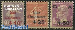 Amortissement overprints 3v
