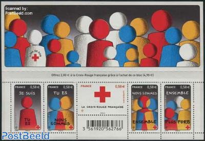Red cross 5v m/s