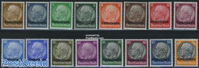 Lotharingen German occupation 16v