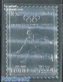 Olympic tennis 1v, silver