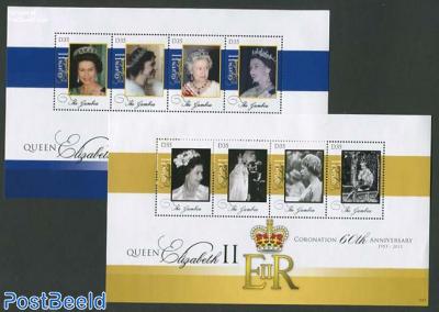 Diamond Anniversary of Coronation 8v (2 m/s)