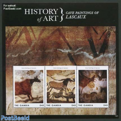 History of art 3v, Lascaux m/s