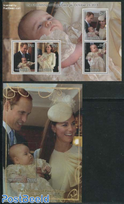 The Christening of Prince George 2 s/s
