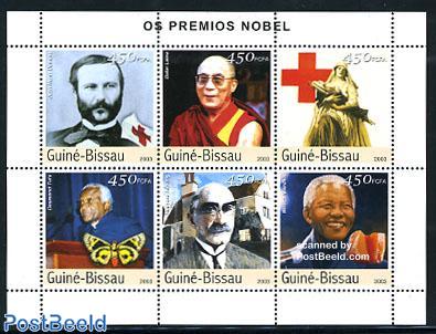 Nobel prize winners 6v m/s