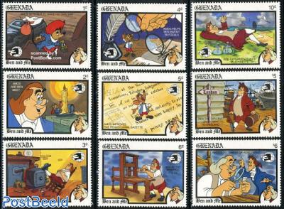 Disney, stamp expo 9v