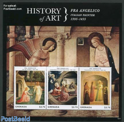 History of art, Fra Angelico 3v m/s