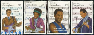 Composers & musicians 4v