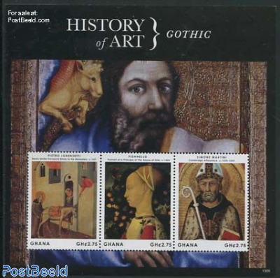 History of art 3v m/s, Gothic