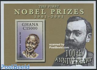 Nobel prize, Mandela s/s