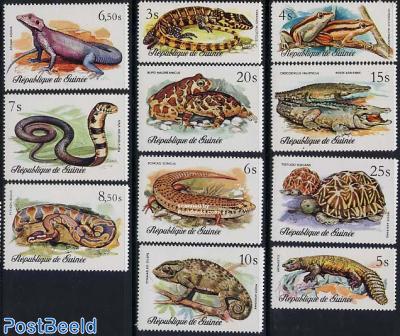 Reptiles 11v