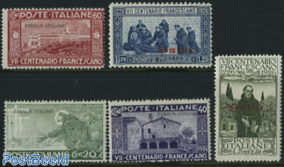 Francisus of Assisi 5v
